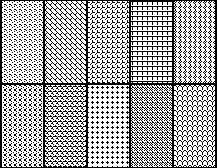 minimal patterns patterns 5x5 pixels