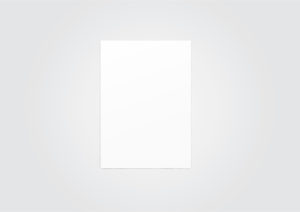 Simple A4 Paper sheet MockUp