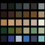 army colours military palette