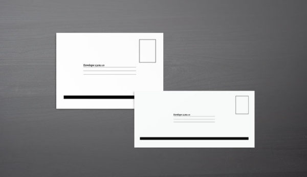 Envelope Template Preview