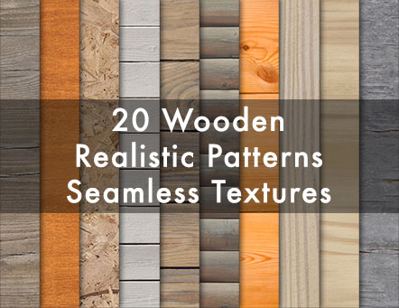 20 Wooden Realistic Seamless Textures preview