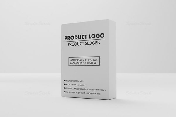 Product Shipping Box Packaging MockUps set 05 cover preview