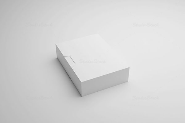 Product Box Packaging Templates MockUps Set preview 03